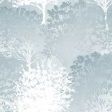 Graham & Brown Grove Duck Egg Wallpaper - Product code: 105654