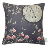 The Chateau by Angel Strawbridge The Chateau Moonlight Cushion Midnight Blue - Product code: MOO/MID/04545CC