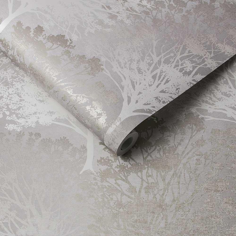 Grove Wallpaper - Natural - by Graham & Brown
