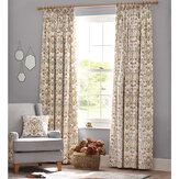 The Chateau by Angel Strawbridge The Chateau Potagerie Curtains Cream Ready Made Curtains - Product code: POT/CRE/10054TA