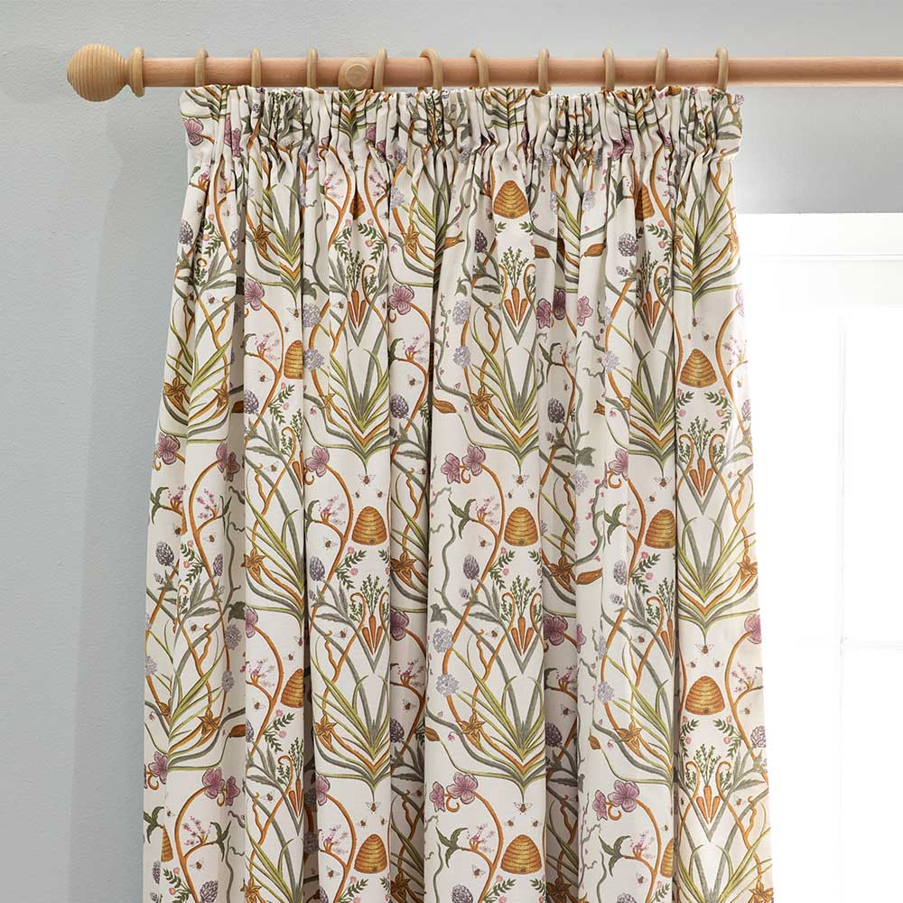 The Chateau Potagerie Curtains Ready Made Curtains - Cream - by The Chateau by Angel Strawbridge