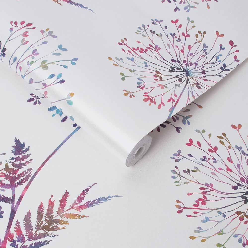 Graham & Brown Wish White / Multicoloured Wallpaper - Product code: 106438