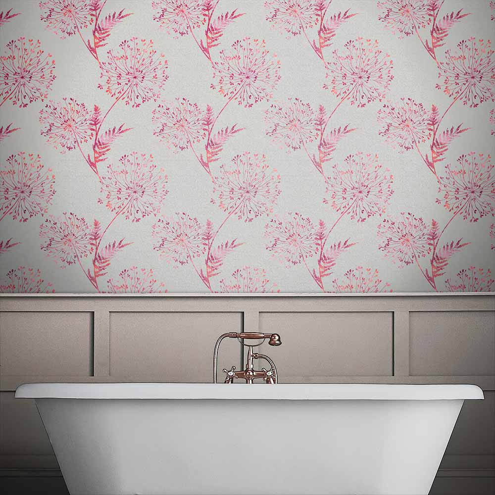Graham & Brown Wish Fire Taupe  Wallpaper - Product code: 106437