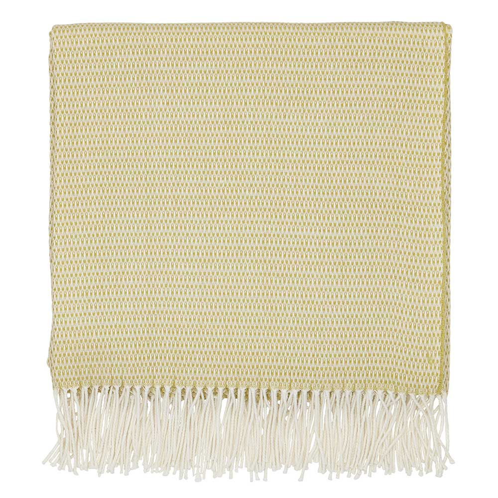 Coraline Throw - Chartreuse - by Sanderson