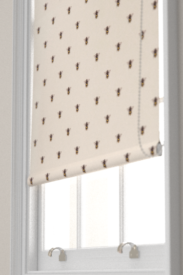 Clarke & Clarke Abeja (bee) Ivory Blind - Product code: F1325/02