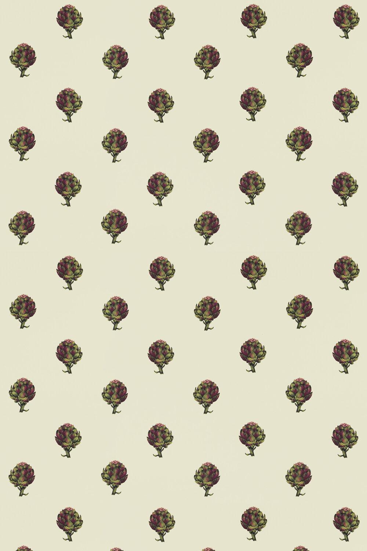 Clarke & Clarke Artichoke Ivory Fabric - Product code: F1326/01