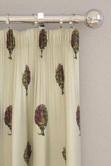 Clarke & Clarke Artichoke Ivory Curtains - Product code: F1326/01