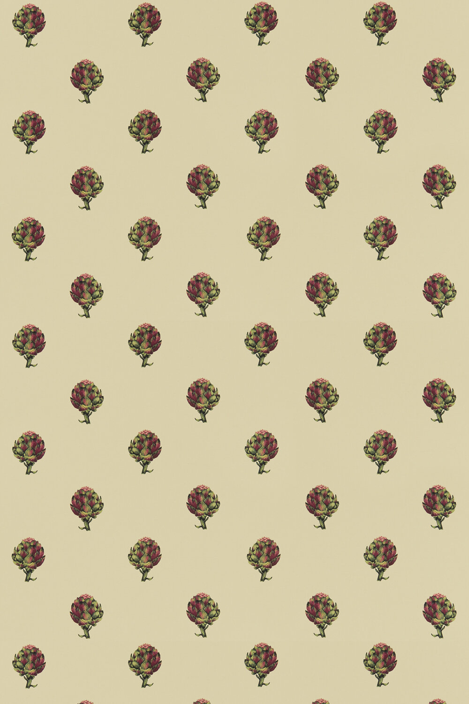 Artichoke Fabric - Linen - by Clarke & Clarke