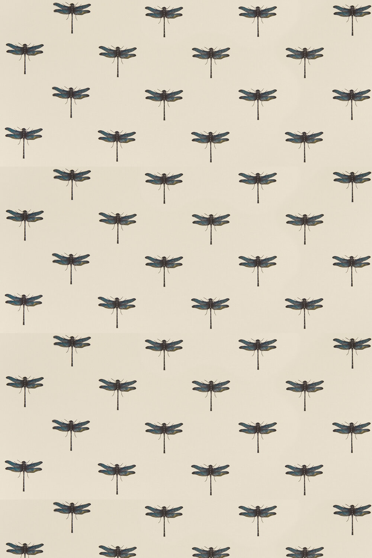Azure Fabric - Aqua - by Clarke & Clarke