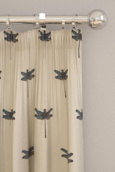 Clarke & Clarke Azure Aqua Curtains - Product code: F1327/01
