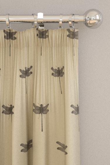 Clarke & Clarke Azure Linen Curtains - Product code: F1327/02