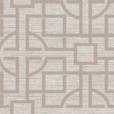 SketchTwenty 3 Japanese Trellis Taupe Wallpaper - Product code: VN01218