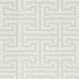 Zoffany Ormonde Key Platinum Grey Wallpaper - Product code: 312936