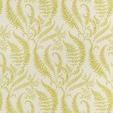Clarke & Clarke Folium Chartreuse Fabric - Product code: F1328/01