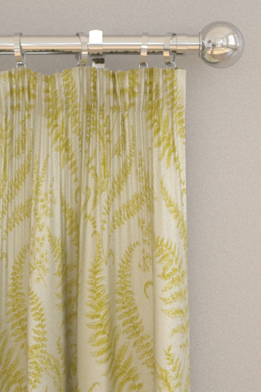 Clarke & Clarke Folium Chartreuse Curtains - Product code: F1328/01