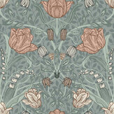 Galerie Filippa Green / Blush Wallpaper - Product code: 33010