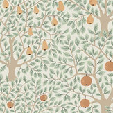 Galerie Pomona Green / Orange Wallpaper - Product code: 33011