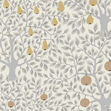 Galerie Pomona White / Grey / Gold Wallpaper - Product code: 33012