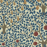 Galerie Pomona Blue Wallpaper - Product code: 33013
