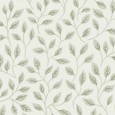 Galerie Apelkvist White / Green Wallpaper - Product code: 33019