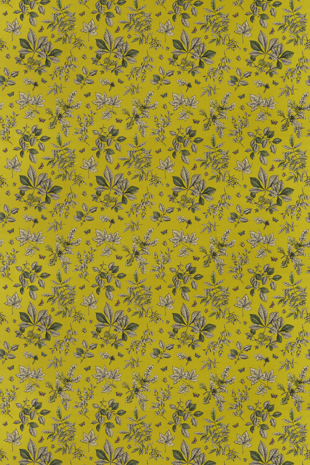 Clarke & Clarke Hortus Chartreuse Fabric - Product code: F1329/03