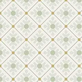 Galerie Skärhamn Light Green / Gold Wallpaper - Product code: 33025