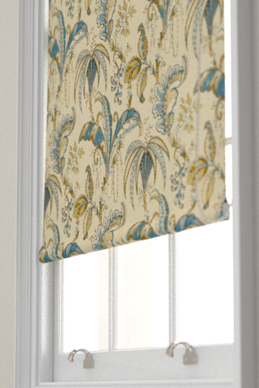 Clarke & Clarke Ophelia Spice / Teal Blind - Product code: F1330/05