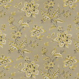 Clarke & Clarke Palampore Taupe Fabric - Product code: F1331/05