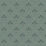 Galerie Lilja Green Wallpaper - Product code: 33030