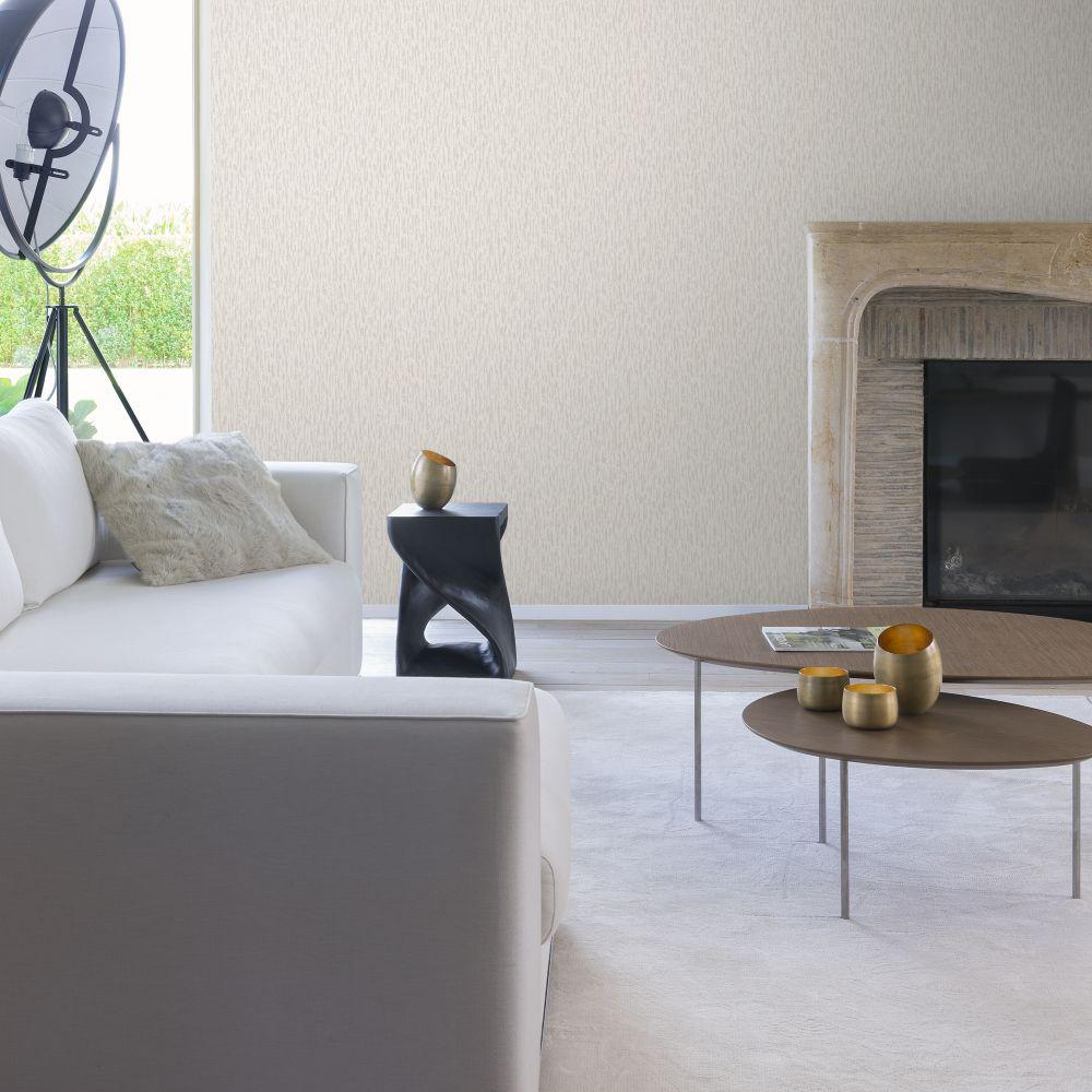 SK Filson Small Stripes Silver Wallpaper - Product code: LV1001
