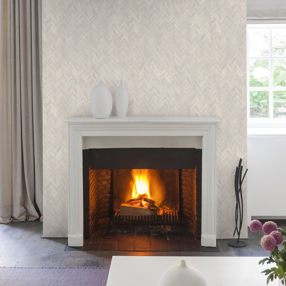 SK Filson Herringbone Beige Wallpaper - Product code: LV3102