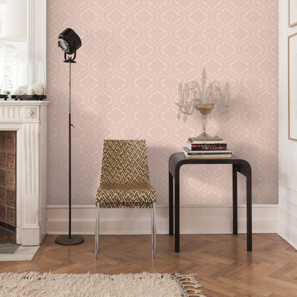 SK Filson Damask Rose Gold Wallpaper - Product code: LV3203