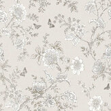 Galerie Boughs and Butterflies Sepia Wallpaper - Product code: FH37541