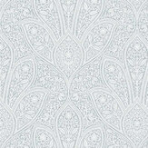 Galerie Floral Paisley Grey-Blue and White Wallpaper - Product code: FH37545