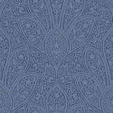 Galerie Floral Paisley Inky Blue Wallpaper - Product code: FH37546
