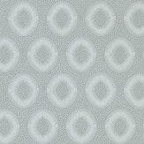 Zoffany Tallulah Plain Empire Grey Wallpaper - Product code: 312964