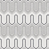 Galerie Zig Zag Grey Wallpaper - Product code: GX37609