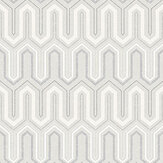 Galerie Zig Zag Pale Grey Wallpaper - Product code: GX37616