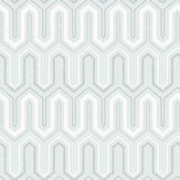 Galerie Zig Zag Baby Blue Wallpaper - Product code: GX37617