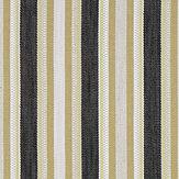 Clarke & Clarke Ziba Charcoal / Ochre Fabric - Product code: F1352-02