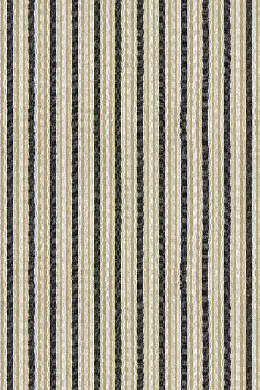 Ziba Fabric - Charcoal / Ochre - by Clarke & Clarke