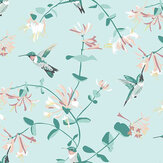 Lorna Syson Hummingbird Mint Wallpaper - Product code: RSPBBHMW