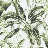Clarke & Clarke Majorelle Ivory Fabric - Product code: F1366-02