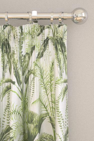 Clarke & Clarke Majorelle Ivory Curtains - Product code: F1366-02