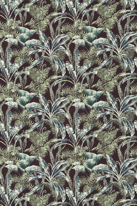 Clarke & Clarke Majorelle Velvet Charcoal Fabric - Product code: F1367-01