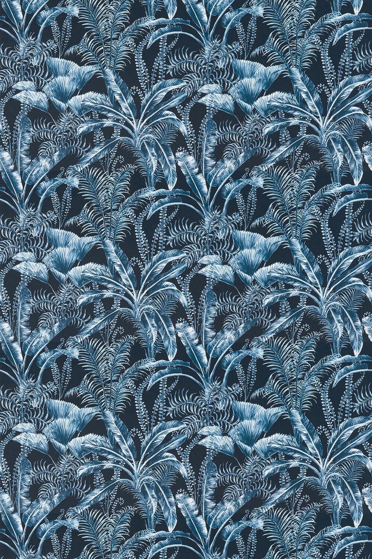 Clarke & Clarke Majorelle Velvet Midnight Fabric - Product code: F1367-02