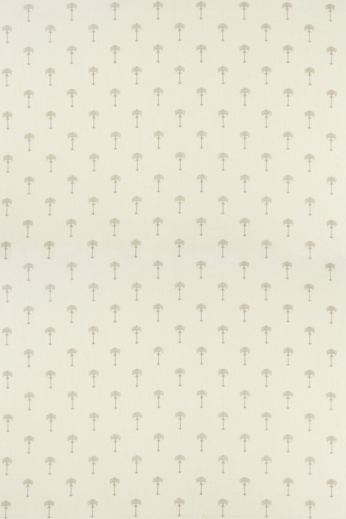 Menara metallic Fabric - Champagne / Ivory - by Clarke & Clarke