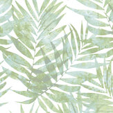 Galerie Palm Leaves Green Wallpaper - Product code:  G67943