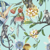 Galerie Tropicana Aqua Wallpaper - Product code: G67957