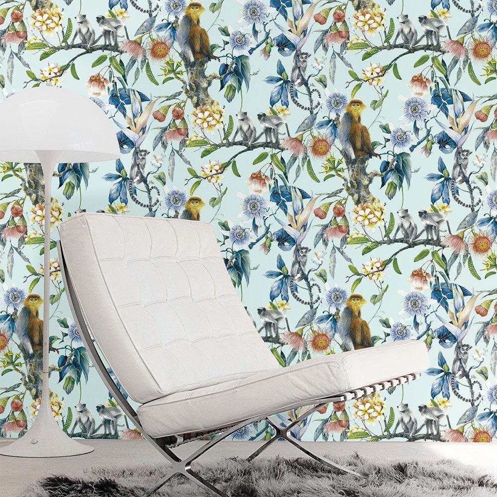 Galerie Tropicana Aqua Wallpaper - Product code: G67957